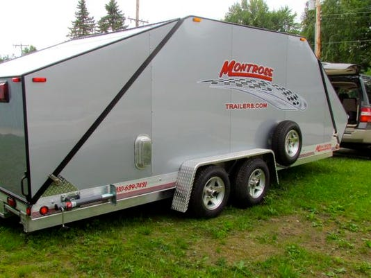 Trailers Help Put Montrose On Map For Car Racers Collectors - Show car trailer