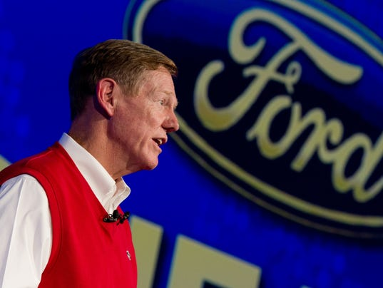 AP Germany Gadget Show Ford