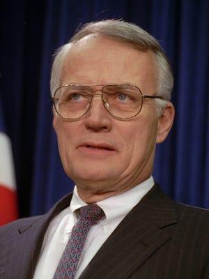 Former senator David Durenberger, R-Minn., in 1993.