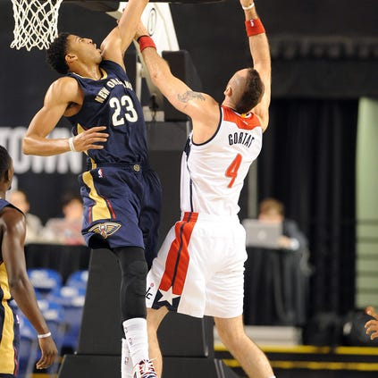 Oct 20, 2014; Baltimore, MD, USA; New Orleans Pelicans