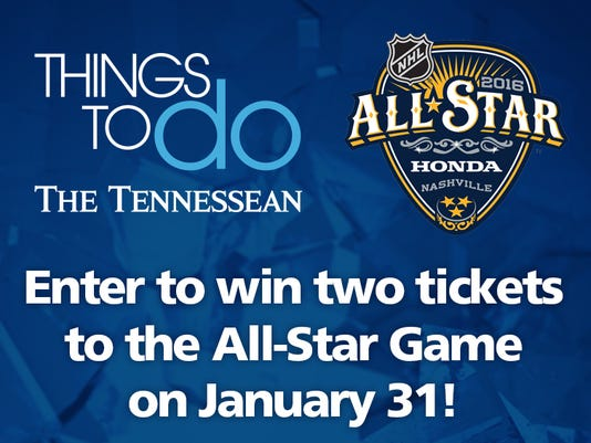 Want to win tickets to Nashville's NHL All-Star Game?