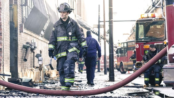 Jesse Spencer as Kelly Severide in NBC's 'Chicago Fire.'