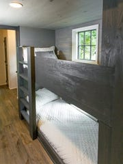 Lofty 12-foot ceilings leave plenty of space for bunk