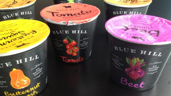 New vegetable yogurts from Blue Hill Creamery