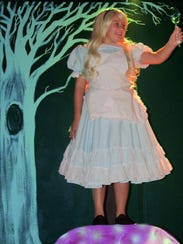 "The Southgate Community Players present ""Alice in Wonderland"