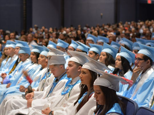 Anthony High School held its 2017 graduation ceremony