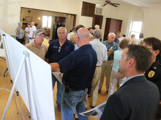 The Ohio Department of Transportation held a public meeting in Elmore on Wednesday as they seek input from the community for the bridge replacement project.