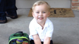 Nathan's First Day of preschool.