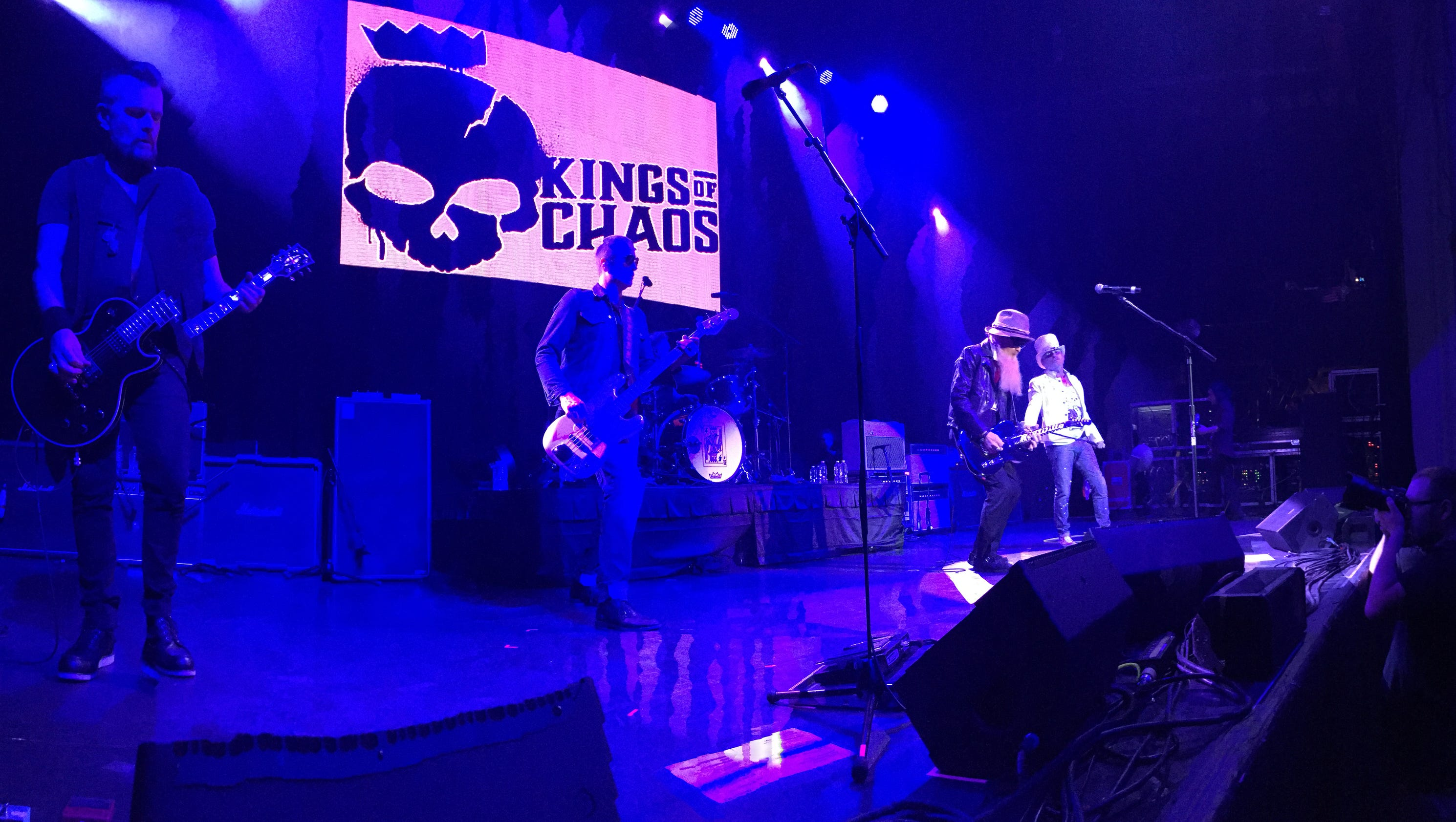 concert review kings of chaos at wellmont theater. Black Bedroom Furniture Sets. Home Design Ideas