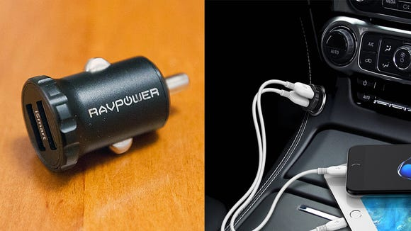 Keep this USB charger in your car so you never have