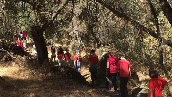 The fifth graders of Hurley Elementary spent a few hours at SCICON this week.
