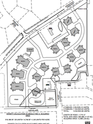 layout of the Glen at Pellmann Farm condominiums that