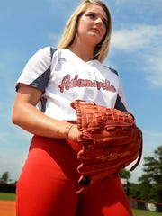 Adamsville's Gabby Morris is the All-West Tennessee Softball Pitcher of the Year.