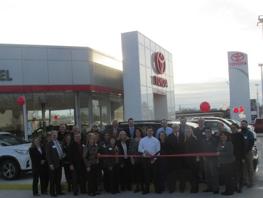 Dealership marks renovation for Mcdaniel motors marion ohio