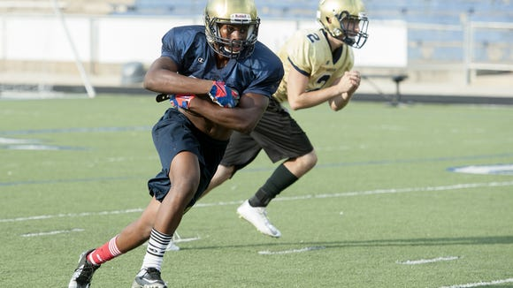 Dezmond Moorman and Roberson are home for Friday's season opener against North Henderson