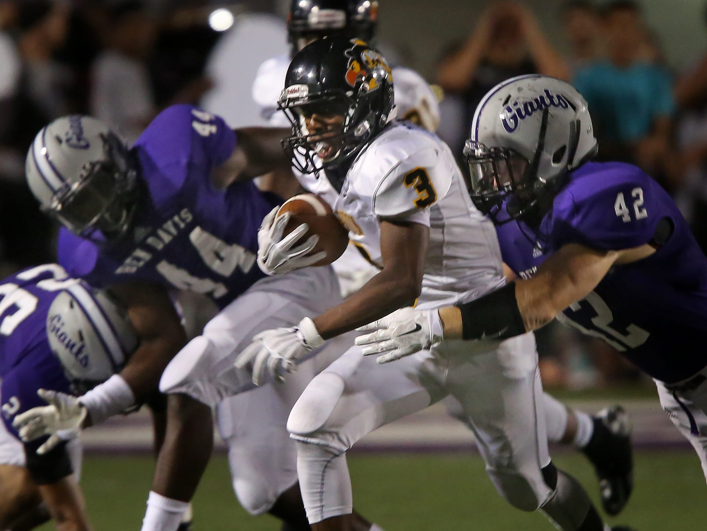 Avon and Ben Davis combined for 91 points in their Week 2 matchup. They meet again, this time for a sectional title.