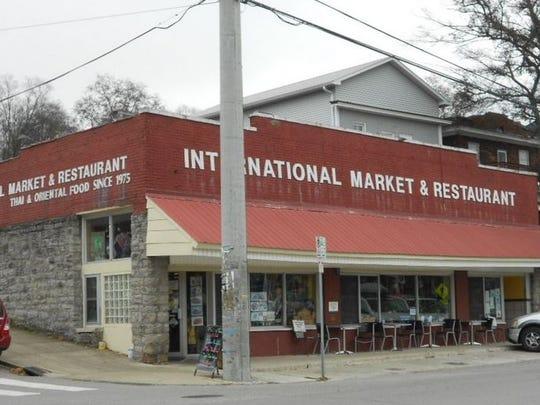 Belmont University now owns this location of  International Market & Restaurant at 2010 Belmont Blvd.