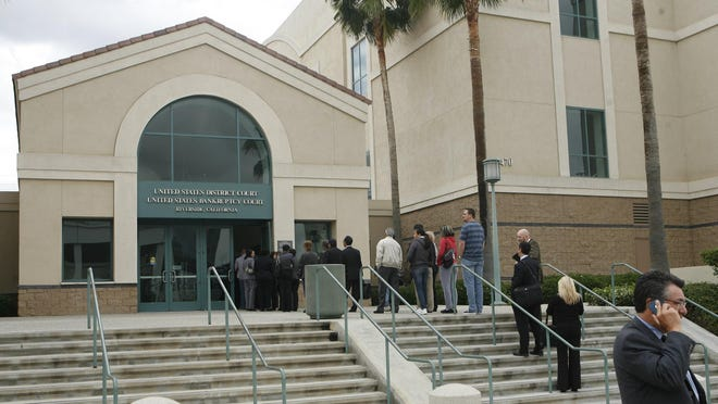 The United States District Court in Riverside is pictured in this Desert Sun file photo.