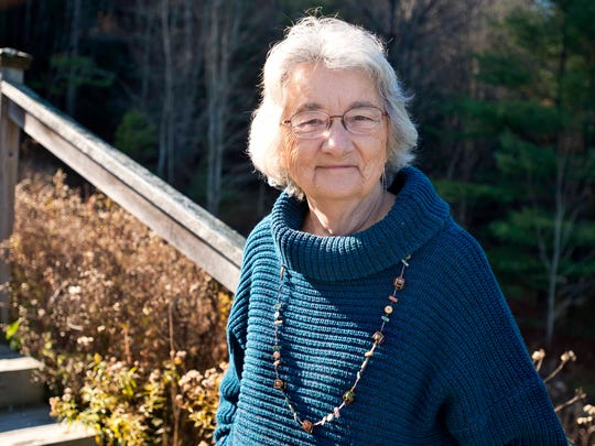 Author Katherine Paterson at home in Montpelier on Tuesday, November 11, 2014.