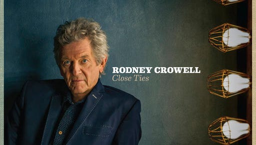 """This cover image released by New West Records shows """"Close Ties,"""" by Rodney Crowell."""