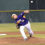 LSUS pitcher Kevin Williams delivers during a game last spring.
