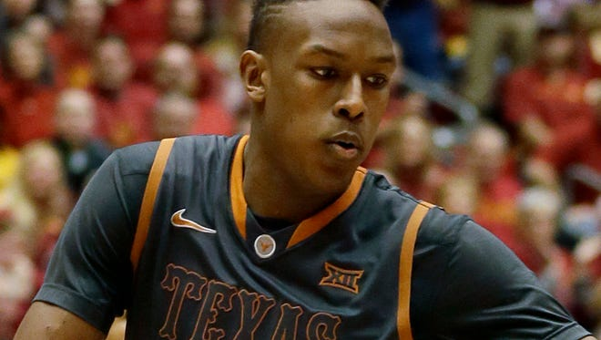 Myles Turner was taken 11th overall by the Indiana Pacers on Thursday night.