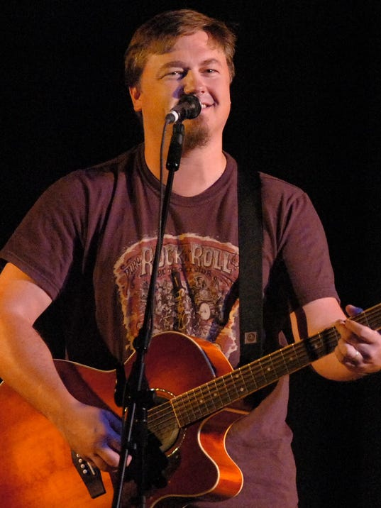 Edwin McCain performed at the Fountain Inn Civic Center