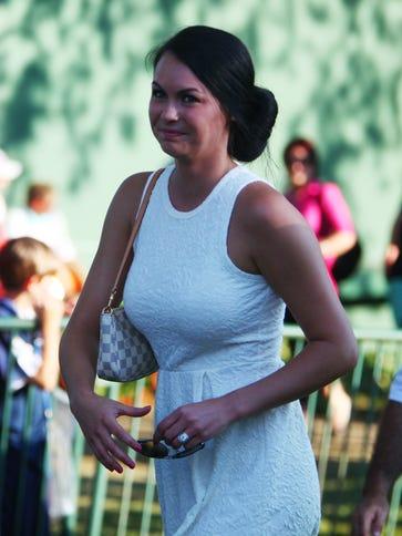 Amanda Boyd wife of the 95th PGA Champion winner Jason
