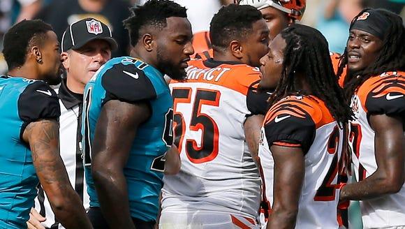 Jacksonville Jaguars defensive end Yannick Ngakoue