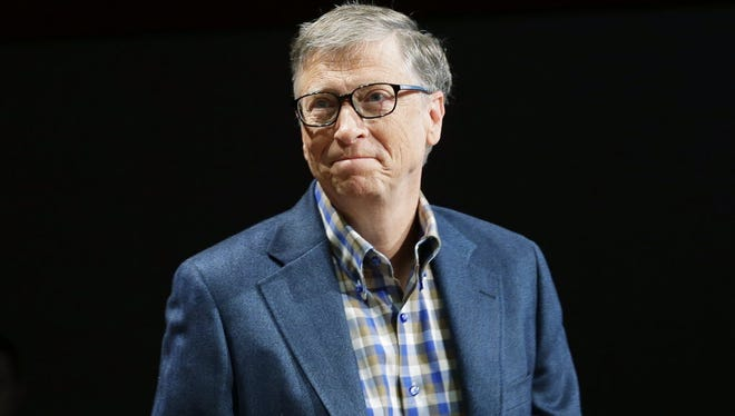 Bill Gates, founder of Microsoft, likens the situation between Apple and the FBI to the police getting records from a phone company.