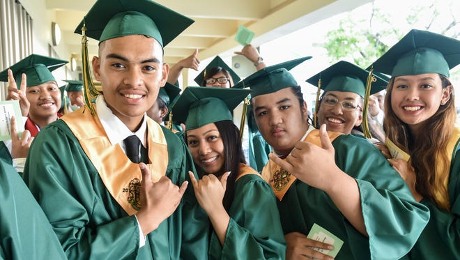 The John F. Kennedy High School Class of 2015 graduation ceremony was held at JFK on June 12.