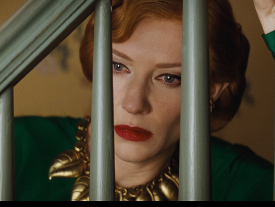 Cate Blanchett at the end of 'Cinderella.'