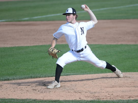 Starting pitcher Connor Ziparo went the distance allowing