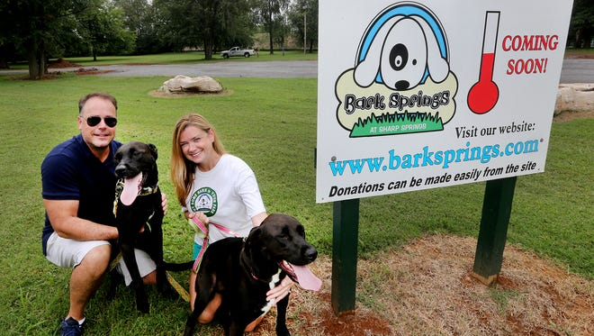 Help raise funds and awareness for Bark Springs at Sharp Springs Natural Area by taking your four-legged family members to Pups on the Pad from 10 a.m. to 2 p.m. Saturday at Smyrna Outdoor Adventure Center.