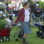 Little red wagons and carts competed for the right-of-way Saturday as plant fanciers used them to transport their purchases at the annual Sunset Herb Festival. The Sunset Garden Club sponsors the event. See a photo gallery at dailyworld.com and Facebook.