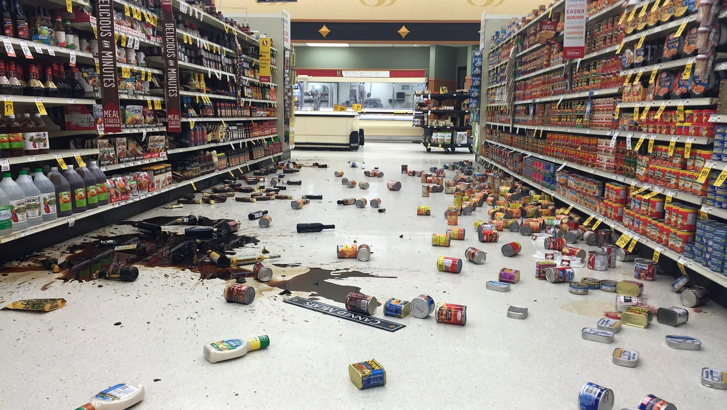Alaska hit with aftershock after 7.1-magnitude earthquake