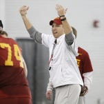 Matt Campbell talks about who stood out in Saturday's scrimmage