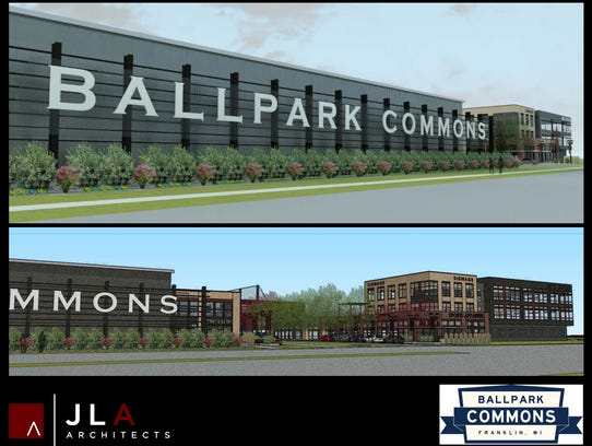 Ballpark Commons is a new sports complex proposed in