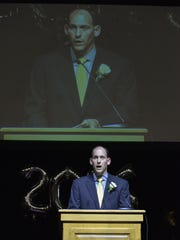 Sauk Rapids-Rice High School Principal Erich Martens