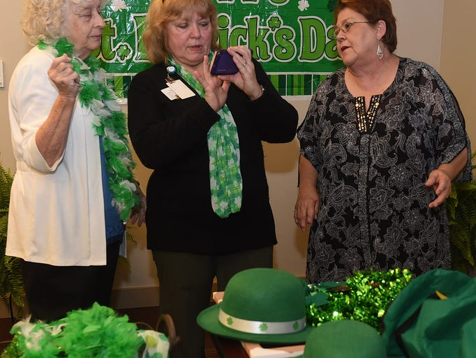 The LHC Group celebrated retired teachers and St. Patrick's