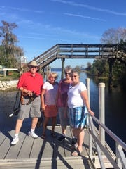 One of the tour stops was at the Blue Cypress Lake Park which offers boat launches, covered pavilions, primitive camping, restrooms, canoeing and hiking.