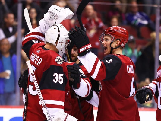 a4c3b562b Arizona Coyotes  They say streak is for real