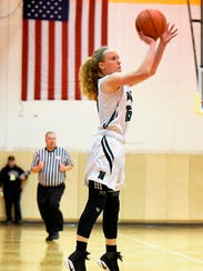 Novi junor guard Ellie Mackay scored a game-high 26