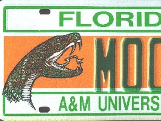 Rattler license plate