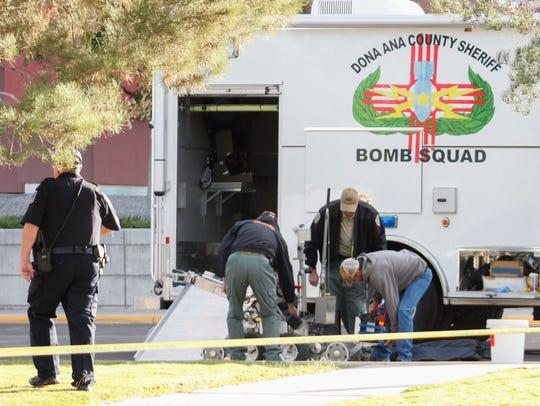 The Doña Ana County Sheriff's Office Bomb Squad utilizes