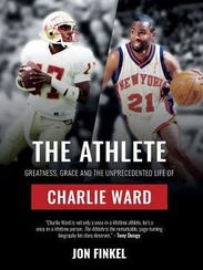 The book cover on Charlie Ward's biography. The Washington High football coach has spent this week on promotional tour in New York for his book.