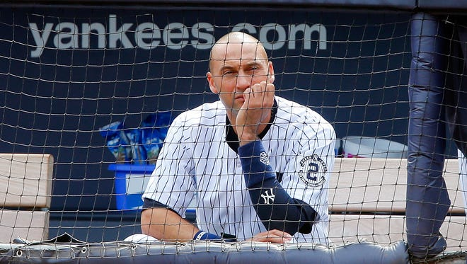Derek Jeter has played only one game with the Yankees eliminated from the playoffs.