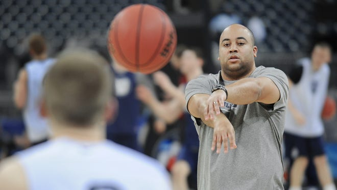 Former Butler assistant Micah Shrewsberry went with Brad Stevens to Boston.