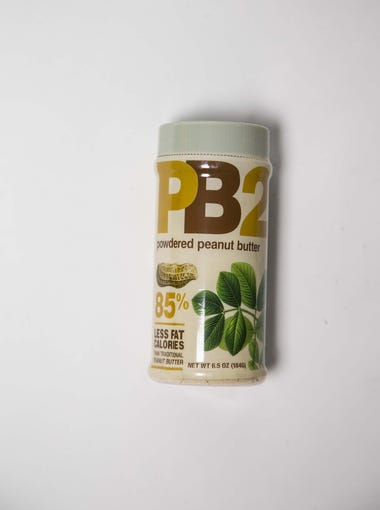 1. Powdered peanut butter   Powdered peanut butter