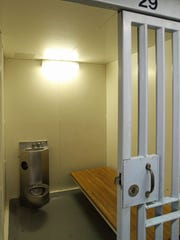 This is cell #29 at Mount Vernon city jail July 31, 2015. Raynette Turner of Mount Vernon died in this cell earlier this week.